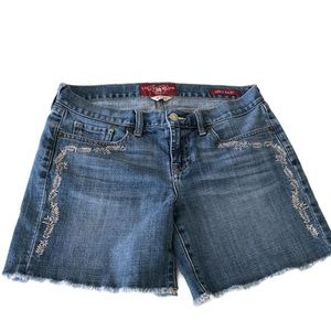 Lucky Brand-AbbeyJean Shorts- size 4/27.  Cutoffs.